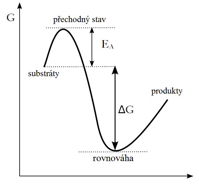 aktivacni enegie bez enzymu cj
